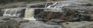 Falls below the bridge on Manuel's River